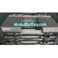 China Compressor air to oil cooler, air compressor cooler, screw compressor oil cooler, plate fin heat exchanger wholesale