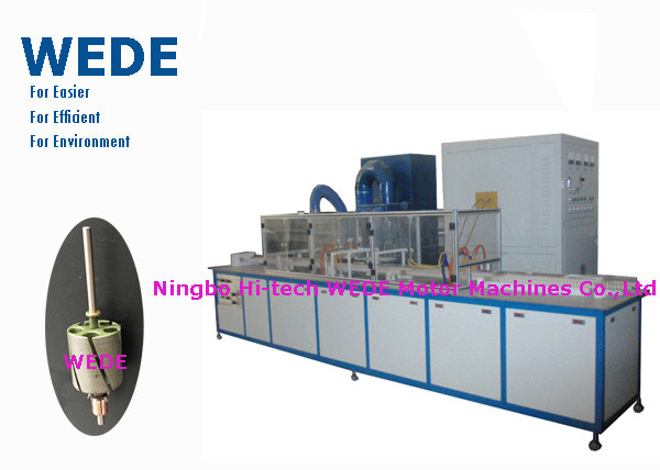 Quality Automatic Powder Coating Machine High Frequency Heater For DC Motor Armature for sale