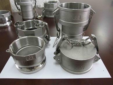 Quality Moulage de précision couping de camlock d'acier inoxydable for sale