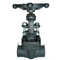 China 1500LB Forged Steel Globe Valve With SW End / Threaded End / Flange End wholesale