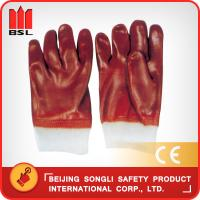 China SLG-GSP002 PVC coat working gloves on sale