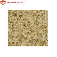 China Natural Stone Flamed Granite Stone G682 Yellow Sand Granite Strong Stain Resistance wholesale