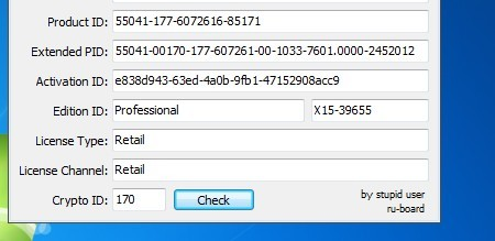 how to get windows 7 product key from bios