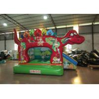 China Cute classic inflatable dinosaur combo / small dino inflatable combo for kids inflatable dinosaur jumping combo for baby wholesale