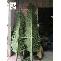 China UVG outdoor ornamental artificial palm tree branches and leaves for theme park landscaping PTR057 on sale