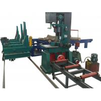 China vertical log band saw with automatic cnc log carriage,wood vertical band sawmill on sale