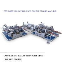 China Insulating Glass Straight Line Glass Double Edger Machine High Performance wholesale