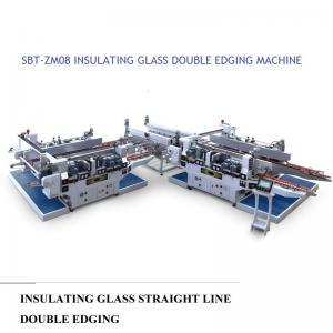 China Insulating Glass Straight Line Glass Processing Equipment Double Edging Machine wholesale