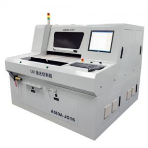 Buy cheap Control exacto ULTRAVIOLETA de cerámica/de cristal JG18, placa de circuito de la cortadora del laser del corte from wholesalers