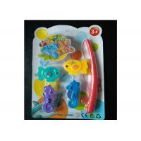 China Kids Magnetic Fishing Game Set With Adorable Sea Horses And Fishing Rod wholesale