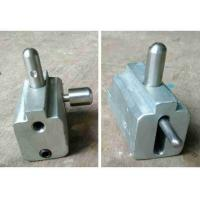 Glass Clip Glass Door Hardware Roller Customized Size High Precision With 2 Wheel