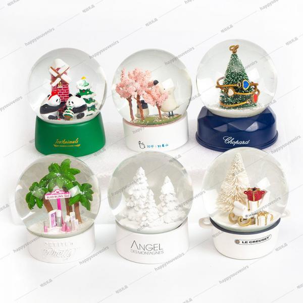 Quality Indoor Decoration 10cm Custom Made Snow Globe for sale