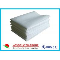 China Hotel / Restaurant / Airline Dry Disposable Wipes Ultra Size With Soft Pearl Pattern wholesale