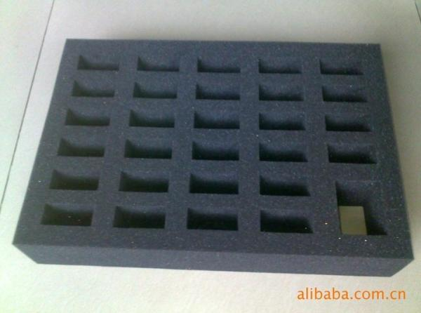 Quality Black Die Cut EVA Foam Insert for Customized Packing Goods Eco Friendly for sale