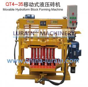 China mobile block machine,movable brick making machine,hollow blocks making wholesale