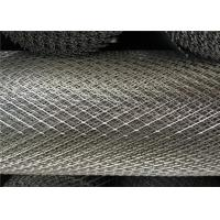 China Galvanized Expanded Steel Diamond Mesh , 15 X 30mm Heavy Gauge Expanded Metal wholesale