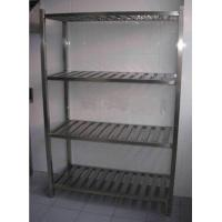China Durable Stainless Steel Display Racks for Supermarket / store / bakery wholesale