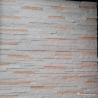 China White And Pink Quartzite Stone Veneer With Machine Cut Edges Split Surface wholesale