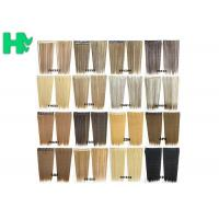 China Synthetic Blonde Hair Extensions Korean Straight Human Hair Weave wholesale