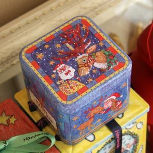 China 食品等級の食糧およびギフトの包装のクッキーのための円形の錫箱 wholesale