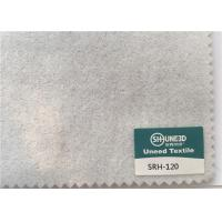 China 120 GSM Garments Accessories Sleeve Head Roll Fabric White And Charcoal Color wholesale