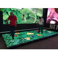 China P4.81 Noiseless interactive led video dance floor , disco dance floor waterproof wholesale