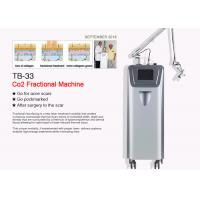 China Glass / RF / Metal Tube Co2 Fractional Laser Machine For Acne Scar / Tattoo Removal wholesale