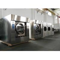 China Front Loading Hotel Washer And Dryer , 15kg To 150kg Water Saving Hotel Laundry Machines wholesale