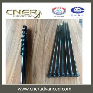 China Brand Cner high stiffness Hi Modular water rescue pole, carbon telescopic pole wholesale