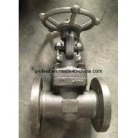 China ASTM Forged Steel Flanged Gate Valve wholesale