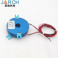 China Electrical Through bore Pancake slip ring with shell enclosed wholesale
