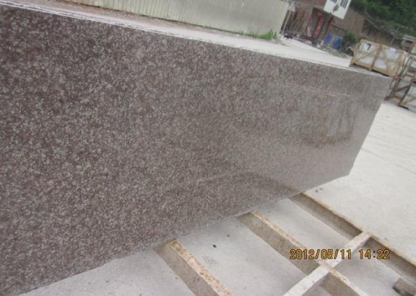 Quality G687 Granite Countertop Slabs , Peach Red Granite Small Slabs 240up x 70 cm for sale