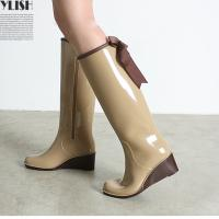China Modern Colorful Ladies Rubber Rain Boots on sale
