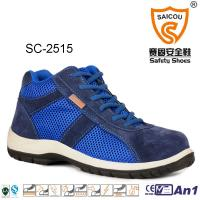 China High Cut  light weight sportive Work and safety boots with composite toe cap wholesale