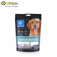 China LLDPE VMPET Stand Up Zipper Pouch Bags Resealable Pet Dog Food Packaging wholesale