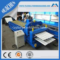 China Wall Double Layer Roll Forming Machine With Panasonic Omron Encoder wholesale