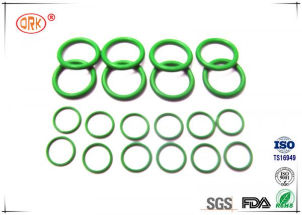 Quality Green NBR O Ring With High Pressure And Oil Resistance For Machinary for sale