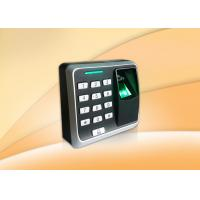 China Security Door Simple Fingerprint Access Control System With Smart Card Reader wholesale