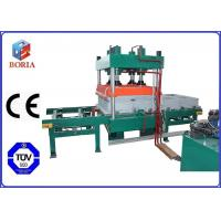 Four Cavities Vulcanizing Machine Electric Heating For Rubber Tile