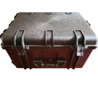 China PP Composites Lockable Plastic Tool Box Hard With Foam Wheels / Handle on sale