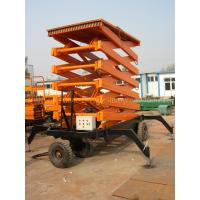 China 1000kg hydraulic aerial working platform Scissor Lift for 12000mm working height wholesale