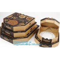 China Wholesale Custom Printed Corrugated Cardboard Recycle Paper Pizza Box Manufacturer,Foldable Flat Packing Blank Craft Pac wholesale