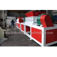 China Plastic Dustbin Four Shaft Shredder ,  Automatic Medical Waste Shredder on sale