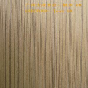 China 2X8' size  0.5mm China Guangzhou finwood engineered wood veneer teak 6# on sale