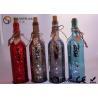 China Plaquez les lumières menées de bouteille de vin de finition avec la couleur/mots de peinture wholesale