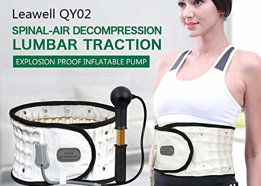 Quality Inflated Decompression Back Belt Manual Pump Inflate Long Lifespan Lightweight for sale