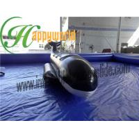 China Fire Resistant Black Shark PVC Inflatable Boat , Inflatable Fly Fishing Boats on sale