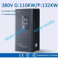 China 110kw 132kw motor pump 50Hz/60Hz AC drive CNC Variable-Frequency Drive VFD AC-DC-AC Low Voltage frequency converter wholesale