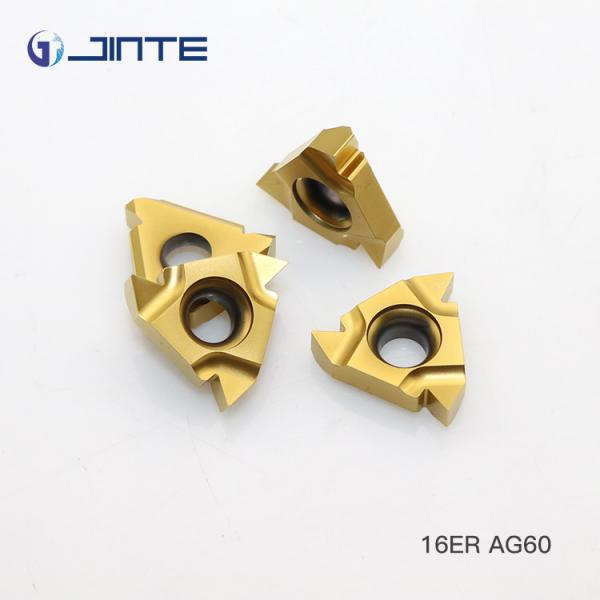 Quality 16ER AG60 Standard Carbide threading inserts for External Cutting Type for sale