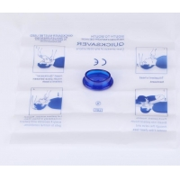 China First Aid Mouth To Mouth CPR Face Shield Sheet Resuscitation Face Shield on sale